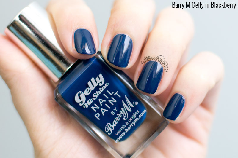 Barry M Gelly Blackberry swatch