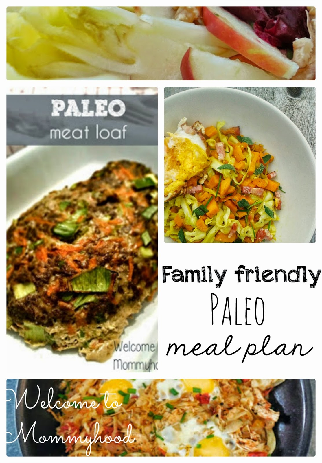 Weekly, Healthy Meal Plans: Paleo and kid friendly by Welcome to Mommyhood #healthymealplans, #healthymeals, #healthyrecipes, #paleo