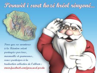Le Père Noël parle créole réunionnais