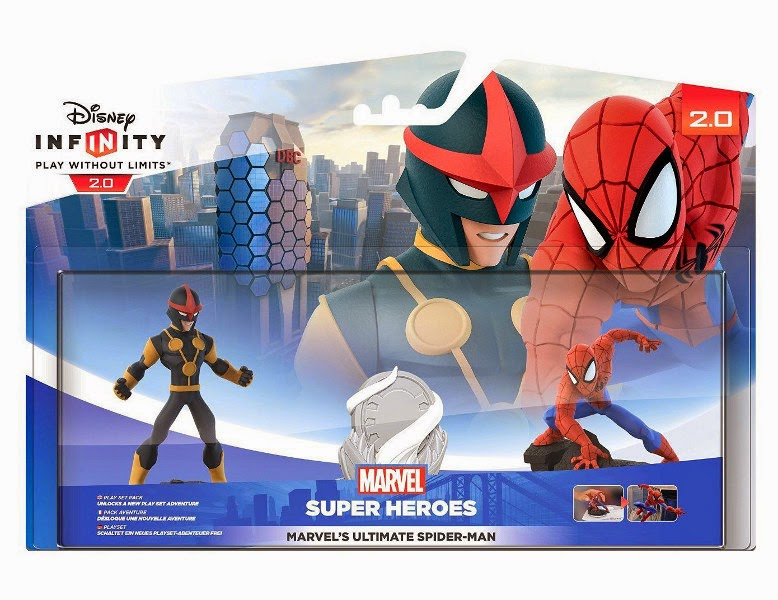 TOYS : JUGUETES - DISNEY Infinity 2.0 Figuras Play Set Marvel Spiderman  PlayStation 4, Nintendo Wii U, PlayStation 3, Xbox 360, Xbox One  Producto Oficial | A partir de 7 años