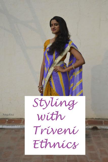 Styling with Triveni Ethnics image