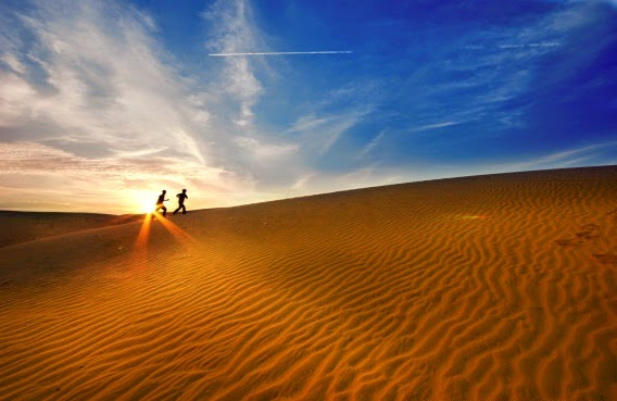 The White Sand Dune - The top attraction at Mui Ne3