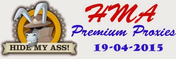 HMA Premium Proxies Update 19 April 2015