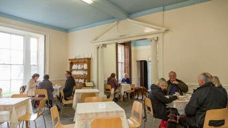 Leith Hill Place tea room © John Miller