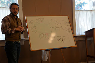 Wess Daniels and the diagram of his framework