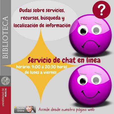 Servicio de Chat en línea.