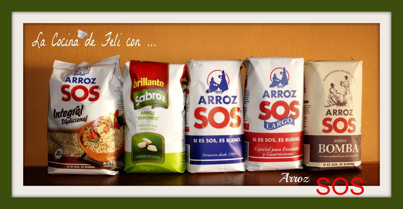 La cocina facil arroz sos for Productos para cocina