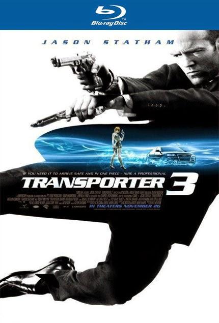 Taşıyıcı 3 - Transporter 3 - bluray poster