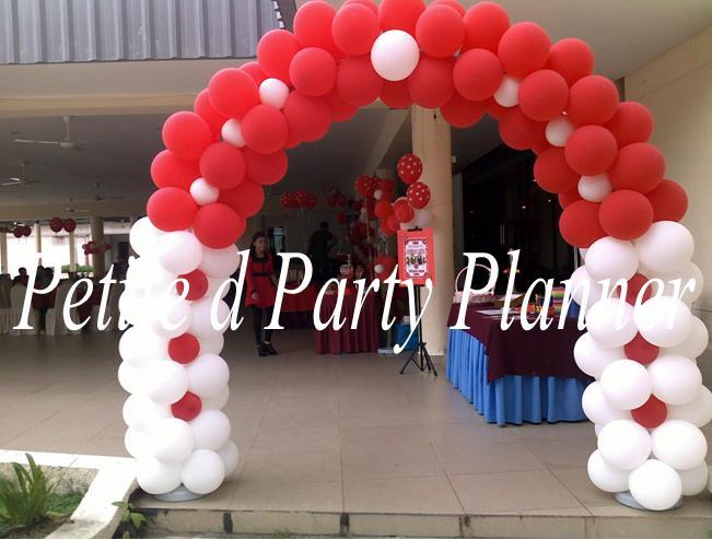 Petite d Party Planner Ipoh Kuala Lumpur Malaysia Yasmin 13th Red