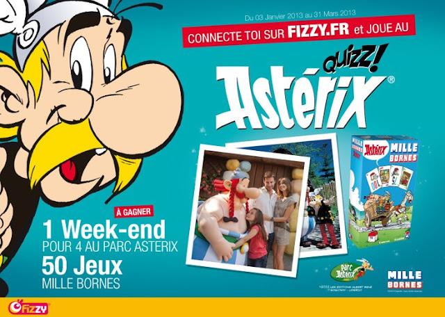 50 jeux de société 1000 bornes Astérix + 1 week-end au parc