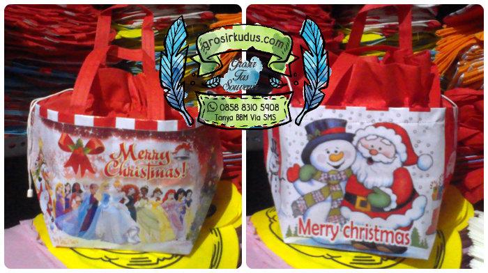 Tas Natal Murah / Tas Souvenir Natal Murah