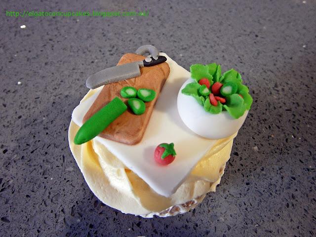 cupcakes verduras