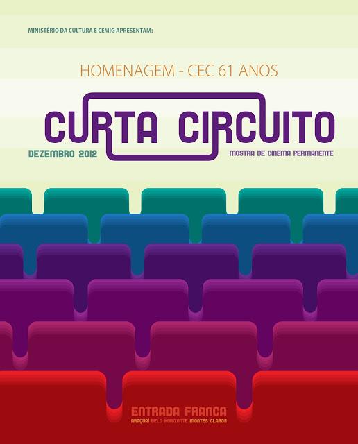 O Curta Circuito – Mostra de Cinema Permanente faz uma homenagem no mês de dezembro, ao Centro de Estudos Cinematográficos – CEC. Para a primeira exibição teremos a sessão Panoramas 1 – CEMICE, dia 03, segunda feira, às 19h, no Cine Humberto Mauro, Palácio das Artes, com entrada franca.