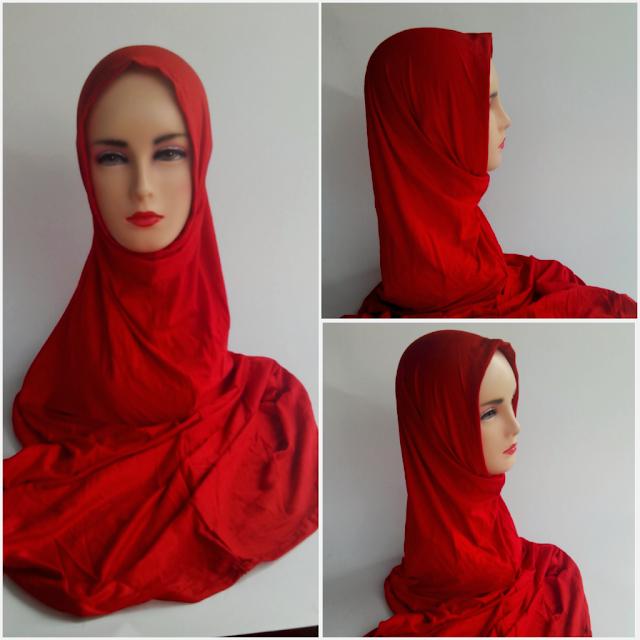 Jilbab instan hana long