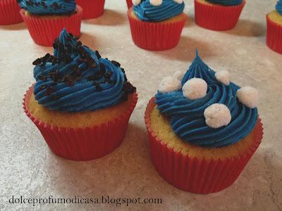 muffins con mirtilli e ribes