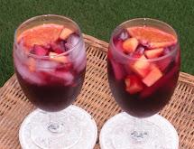 Sweet Red Wine Sangria