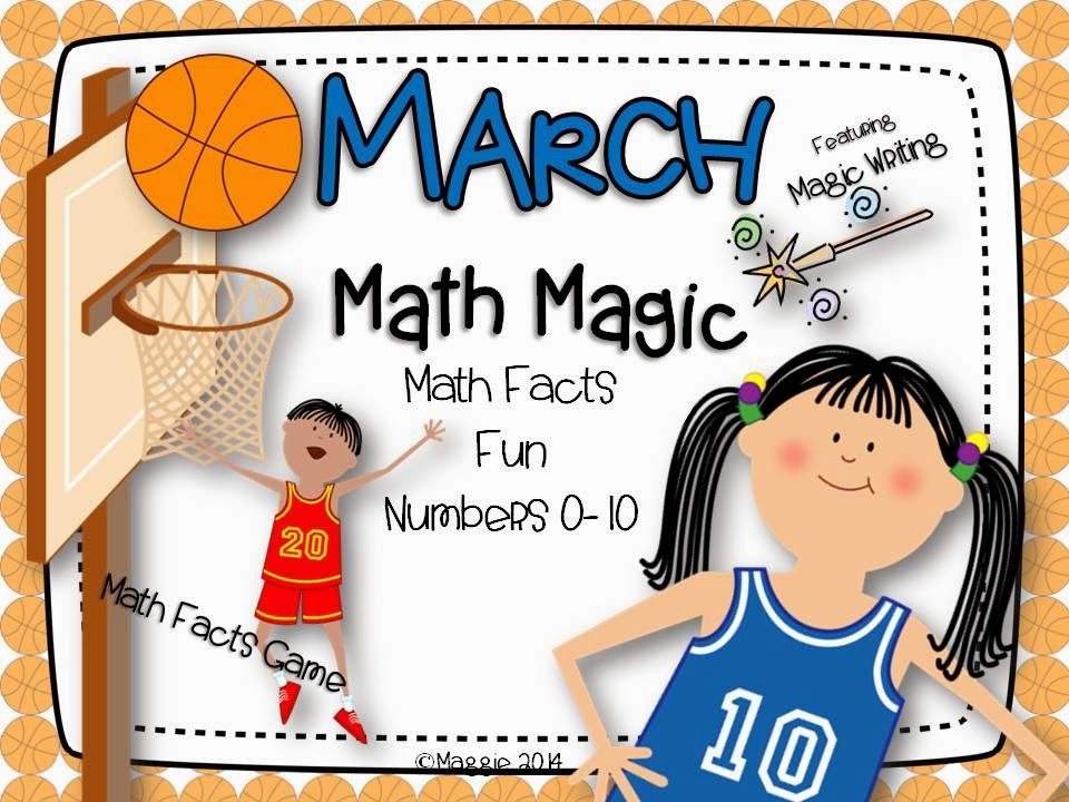 http://www.teacherspayteachers.com/Product/March-Math-Magic-1123790