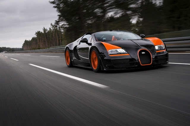 Bugatti Veyron Grand Sport Vitesse: A World Record Holder at 254.04 Miles-per-Hour