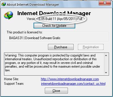Internet Download Manager 6.05 Build 11 2