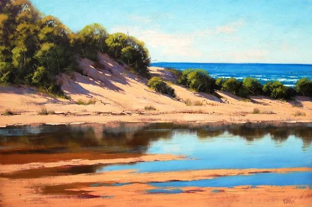 Graham Gercken landscape paintings