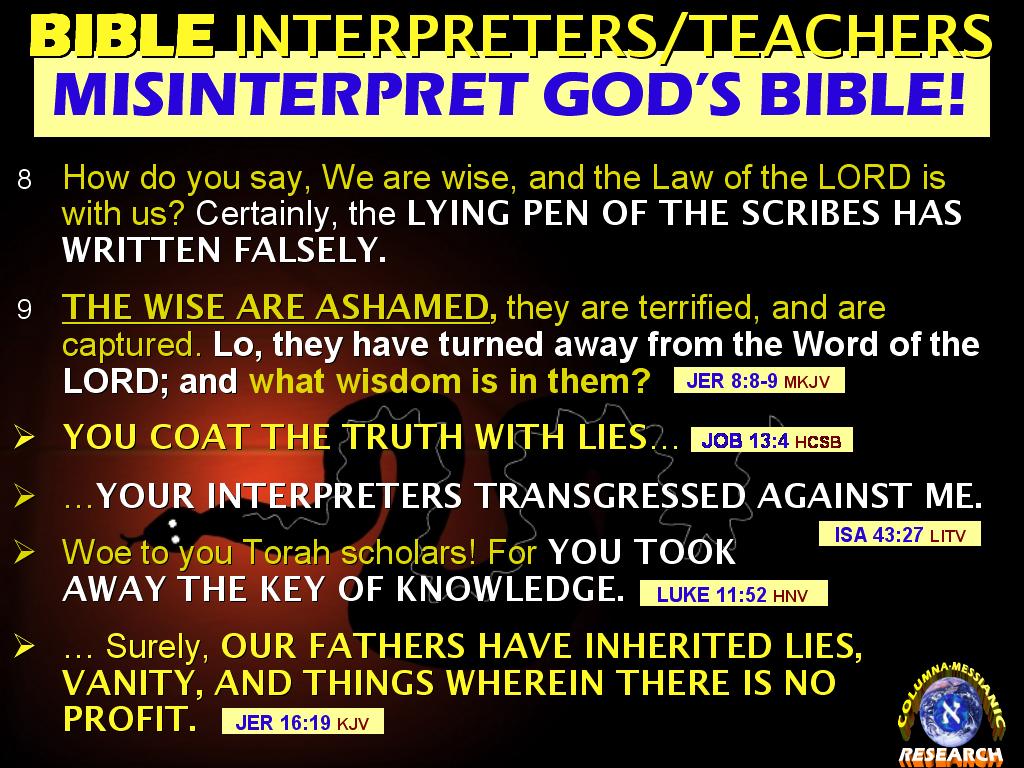 The BIBLE EXPLAINER & REVELATOR: Q149: I'VE READ ALL THE BOOKS ...