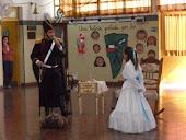 """San Martín """"visitó"""" nuestra escuela 2010"""
