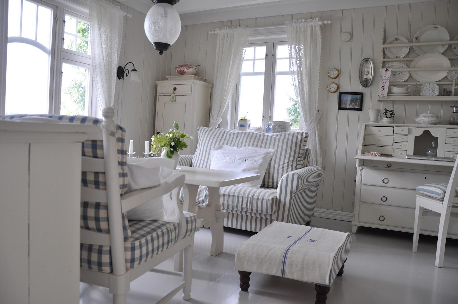 Husmannsplassen i hidlesundet bilder fra stuen - Case norvegesi interni ...