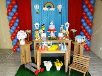 Decoração de festa infantil Mágico de Oz