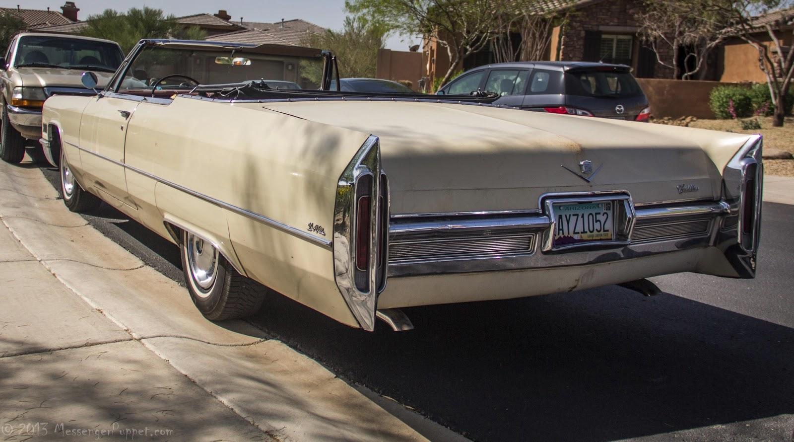 1966 Cadillac de Ville convertible