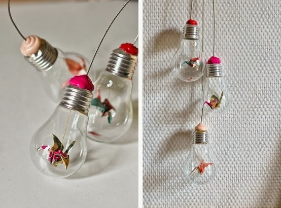 The Art Of Up-Cycling: Recycle Light Bulbs