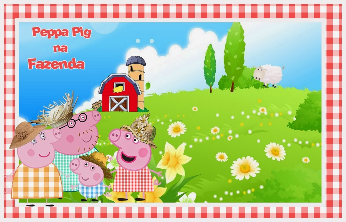 Peppa Pig: Free Printable Invitations, Labels or Cards. | Is it ...