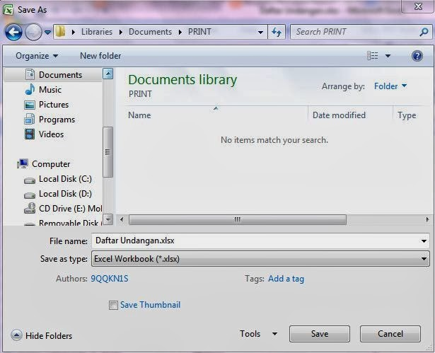 Ronggur Search: Cara Mudah Membuat Label Undangan pada Ms