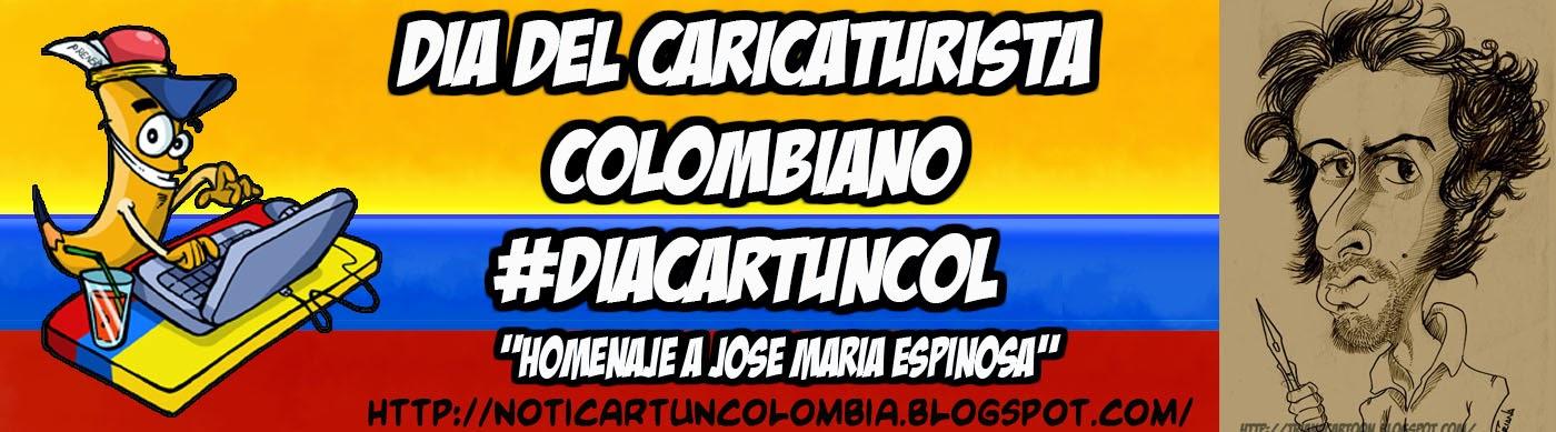 DIA DEL CARICATURISTA COLOMBIA - #DiaCartunCol