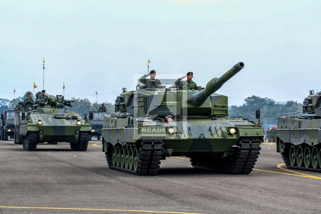 Gladi HUT TNI 2013 - Foto Alutsista dan Pasukan yang Akan Berparade