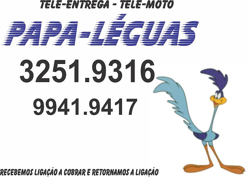 Tele-entrega e Moto-táxi Papa Léguas