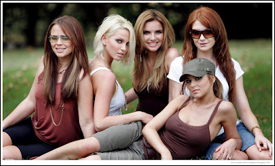 Girls Aloud In Park Wallpapers