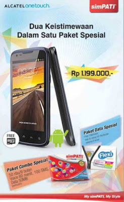 Alcatel One Touch D662, Handphone GSM dan CDMA