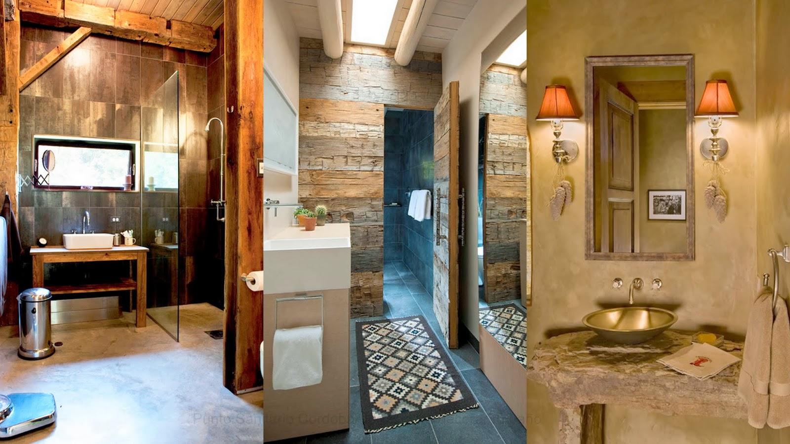El estilo r stico m s fresco y natural jujuy al momento for Duchas rusticas piedra