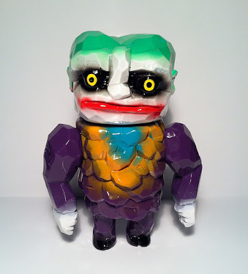 """The Jerk!"" Karakuri The Joker Custom Vinyl Figure by D-Lux"