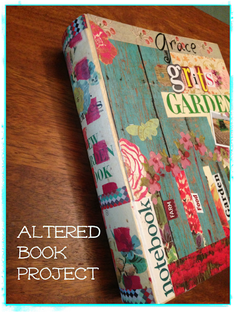 Altered book project - After
