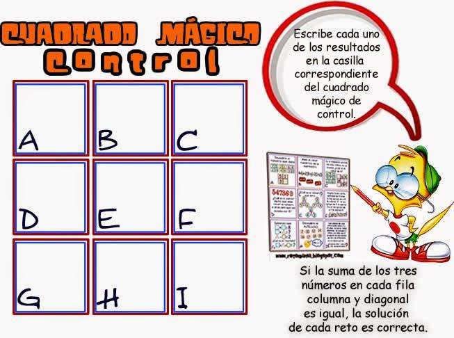Cuadrados mágicos, Cuadrado mágico, Retos matemáticos, Desafíos matemáticos, Problemas matemáticos, Problemas para niños, Problemas para pensar, Retos para pensar, Retos matemáticos para niños
