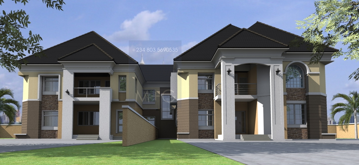 House plans and design nigerian architectural home designs for Architect design house plans
