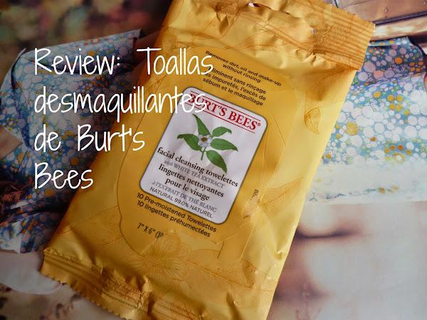 Review: Toallas Limpiadoras de Burt's bees
