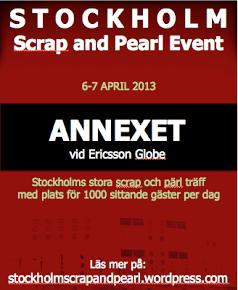 Stockholm Scrap & Pearl Event
