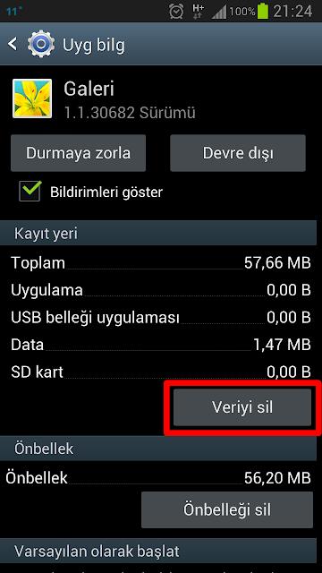 Mükemmelin Blogu - Galaxy S3 Galeri Sorunu - Android Galeri Sorunu