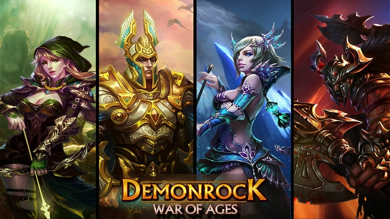 Demonrock War of Ages 1.05 Mod Apk+Data (Unlimited Money) For Android