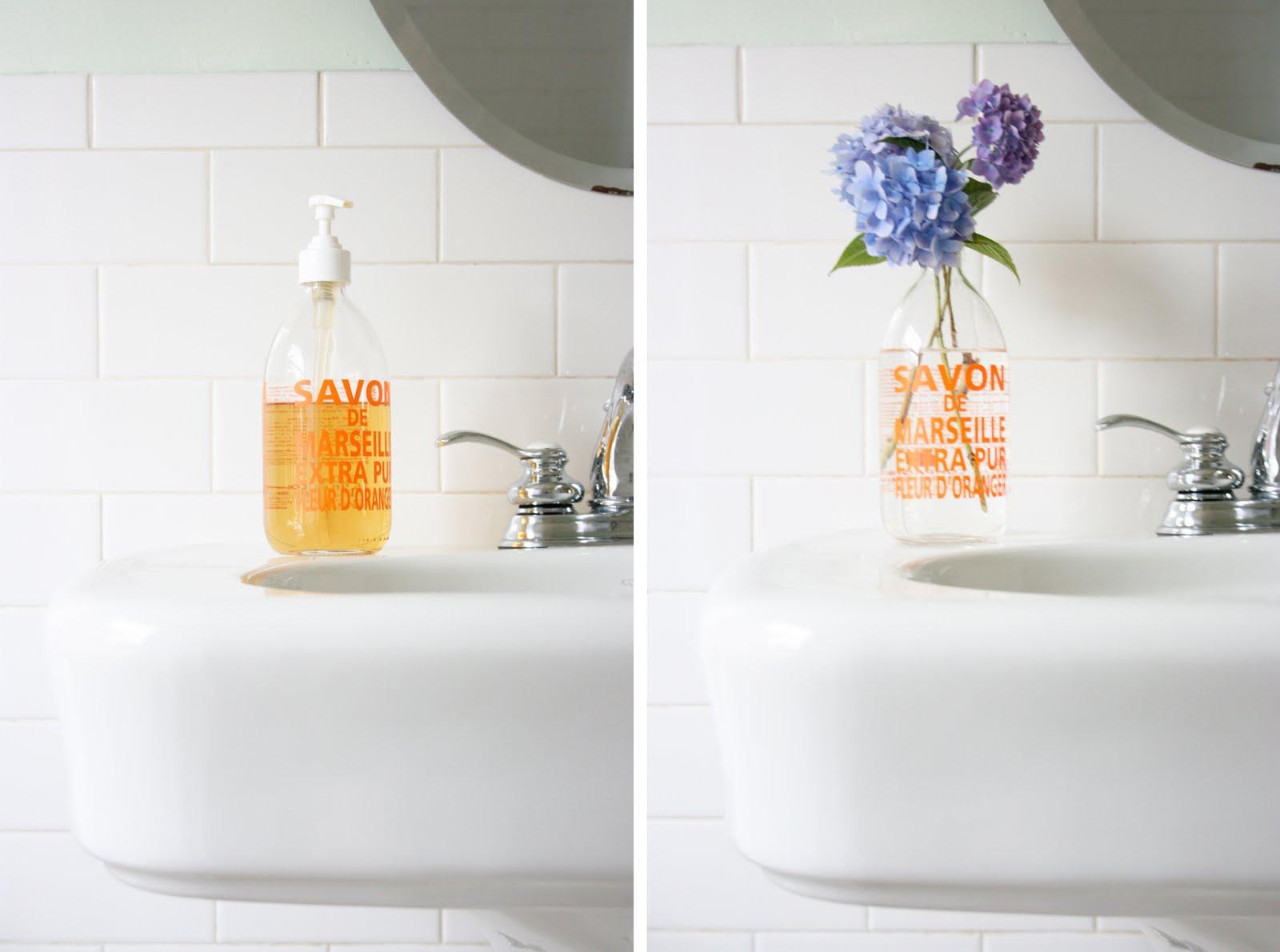 stephmodo repurposing savon de marseille. Black Bedroom Furniture Sets. Home Design Ideas