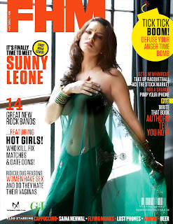 Sunny Leone in FHM India May 2012-Magazine Cover