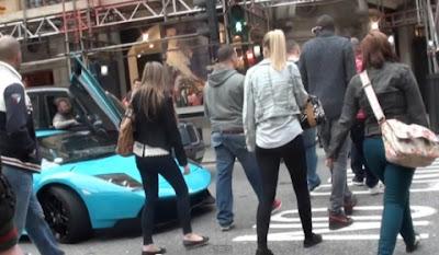Arab Lamborghini LP670-4 SV Owner Goes Crazy at Van Driver