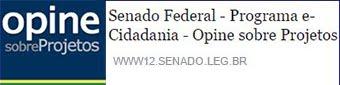 "Opine sobre o PLS 6/2016 - Vote ""Contra"""